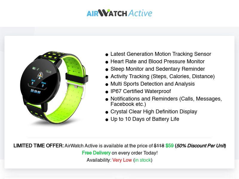 AirWatch Active (INTL) (CPS)