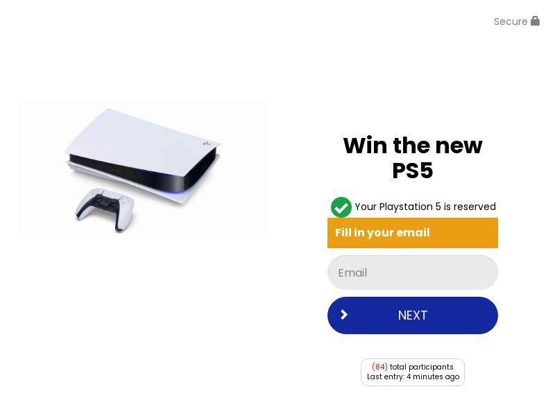 Win a Playstation 5 - US