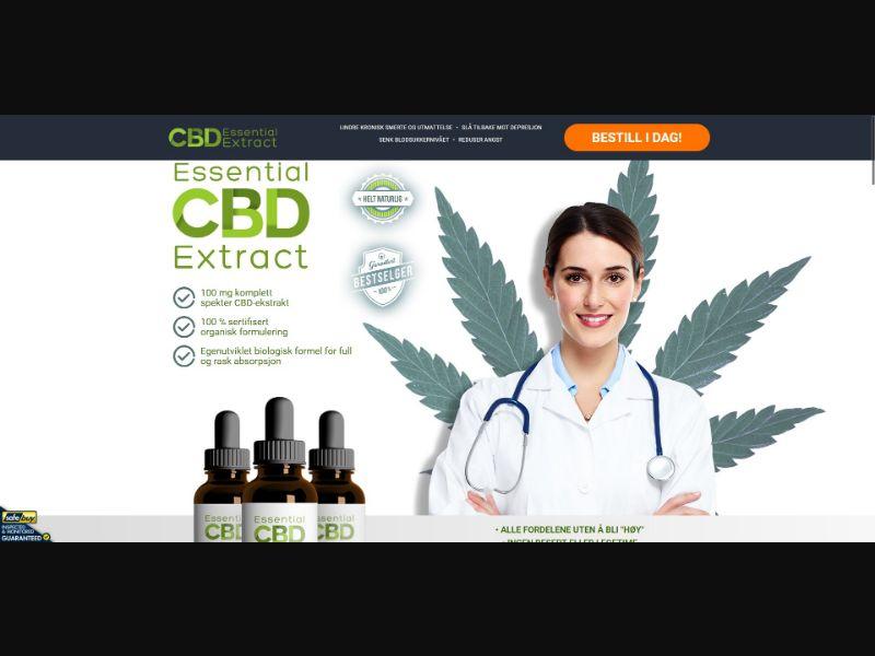 Essential CBD Extract - CBD - SS - [NO]