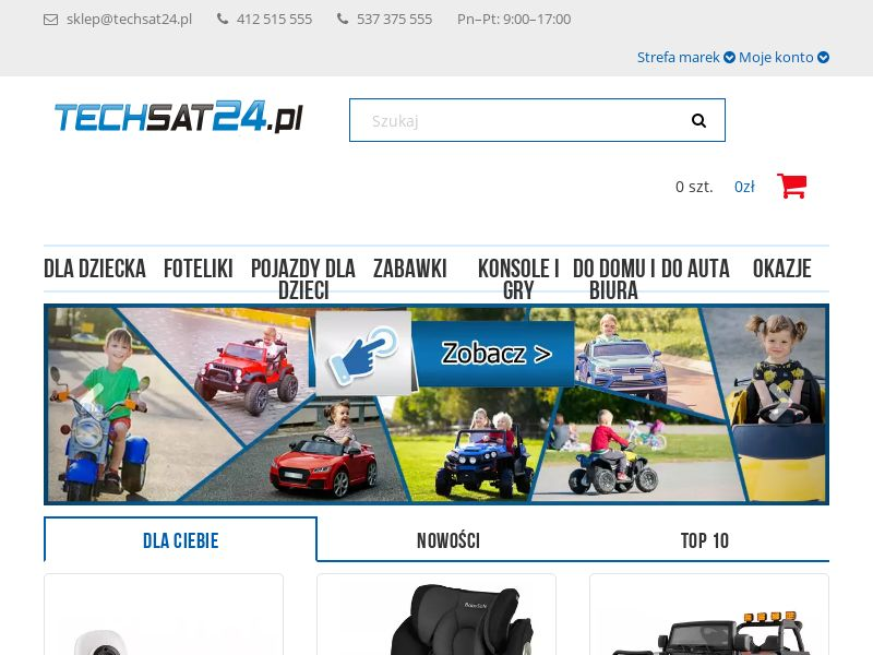 TechSat24.pl (PL), [CPS], Appliances and Electronics, Hardware, Audio and video, Household goods, Sell, shop, gift