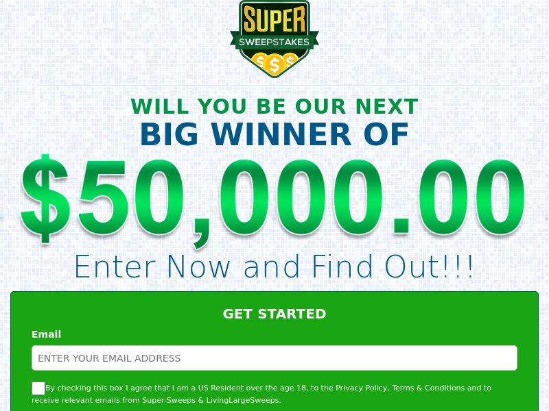 Super Sweepstakes (CPL) US)