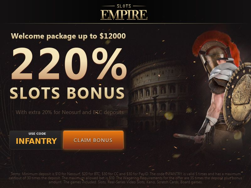Slots Empire | US, CA