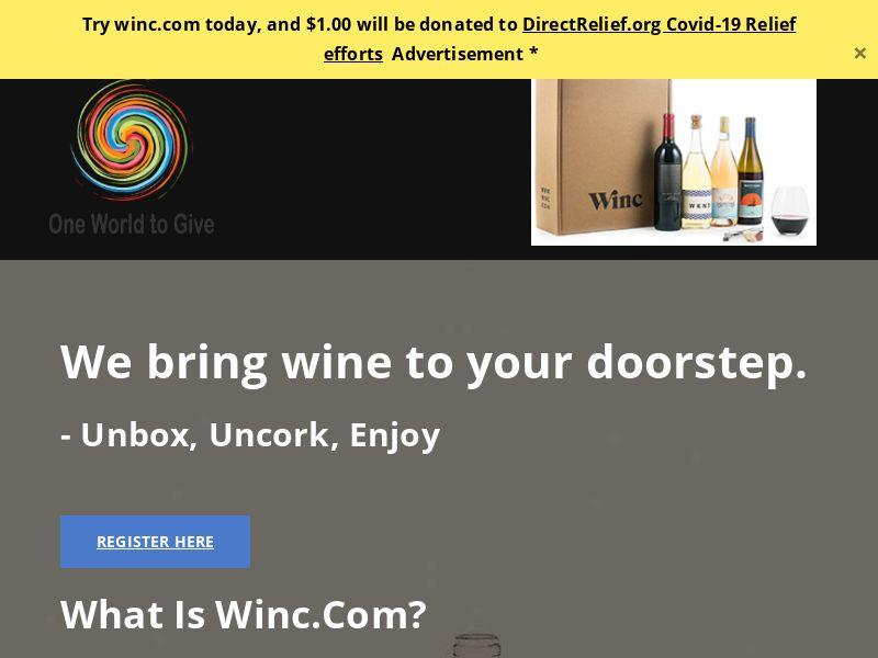 Wine to Your Doorstep - INCENT - US