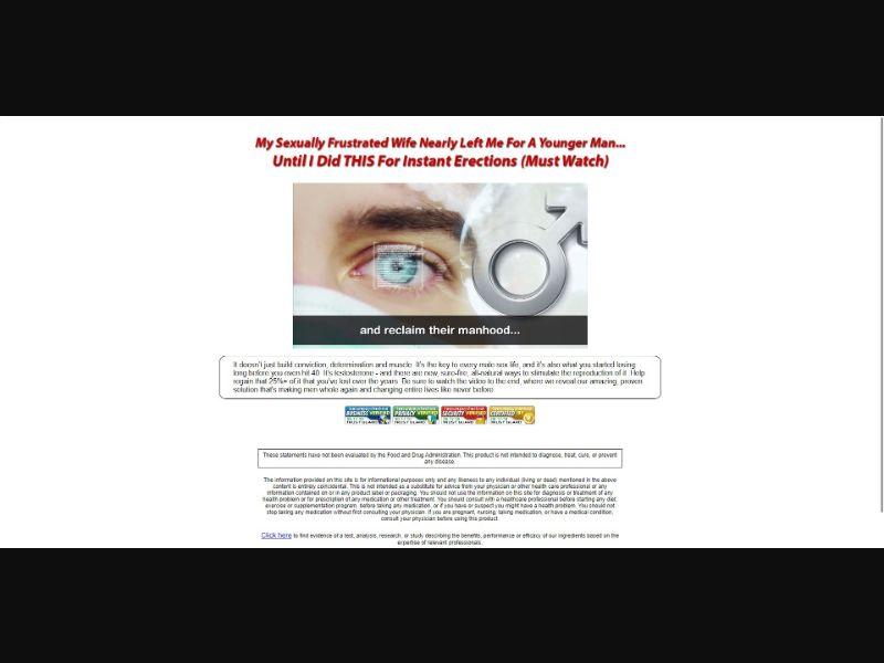 Testo 911 - VSL - Male Enhancement - SS - [US, CA, UK, AU, NZ]