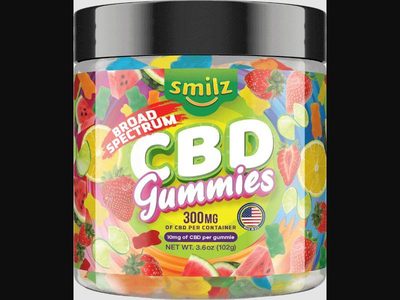 CBD - Smilz Delta 8 Gummies Cherry Cubes US