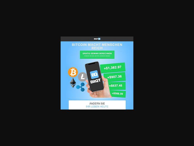 BitQT [DE,AT,CH,CA] (Email,Banner,Native,Social) - CPA