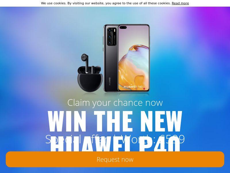 (14571) [WEB+WAP] Huawei P40 - UK - CPL