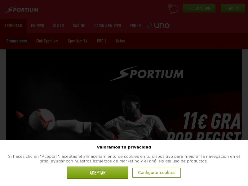 Sportium - ES (ES), [CPA], Gambling, Casino, Poker, Sports Betting, million, lotto
