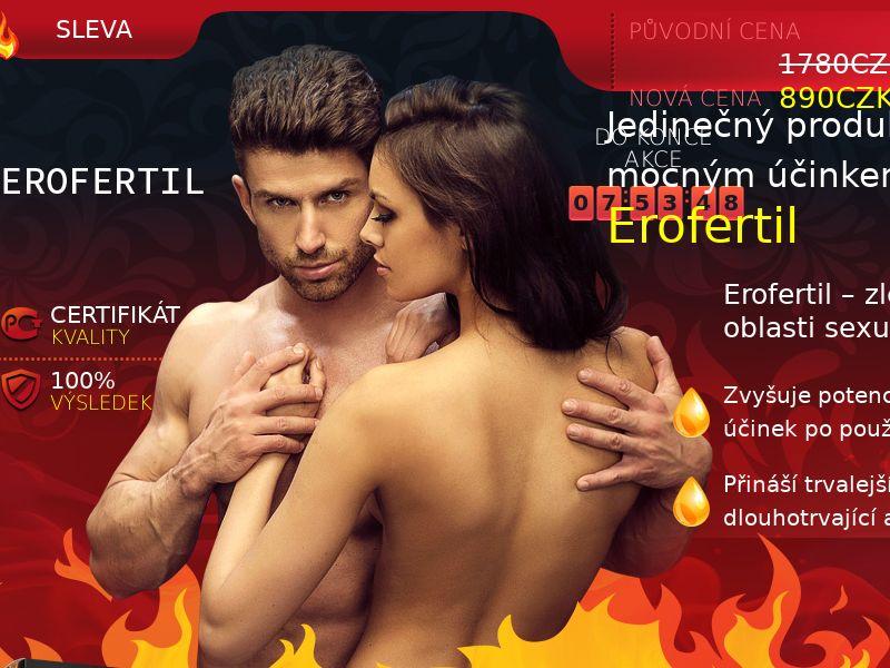 Erofertil CZ - potency treatment product
