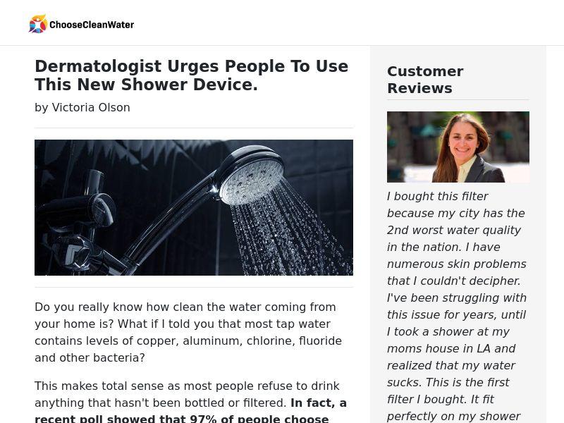 ShowerSafe High Quality Shower Filter