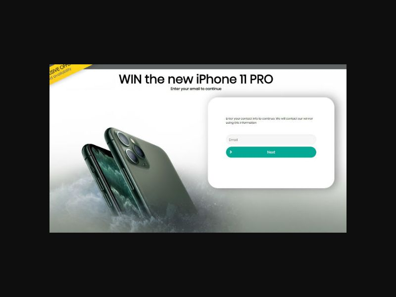 YOUSWEEPS - Win a New iPhone 11 PRO (UK)