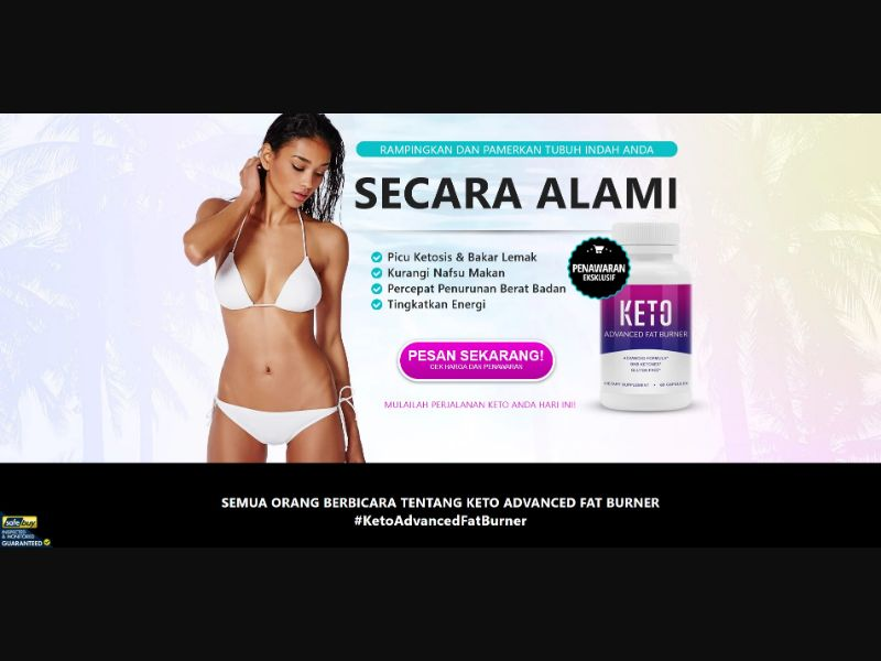 Keto Advanced Fat Burner - Diet & Weight Loss - SS - [ID]
