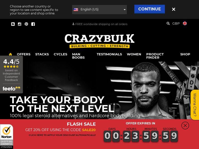 CrazyBulk.co.uk CPS - United Kingdom
