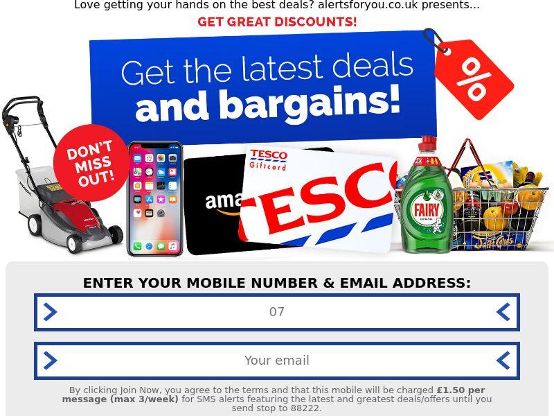 Tesco Offer CPL UK [GB]