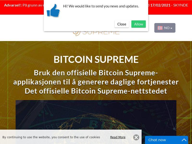 Bitcoin Supreme Norwegian 1913