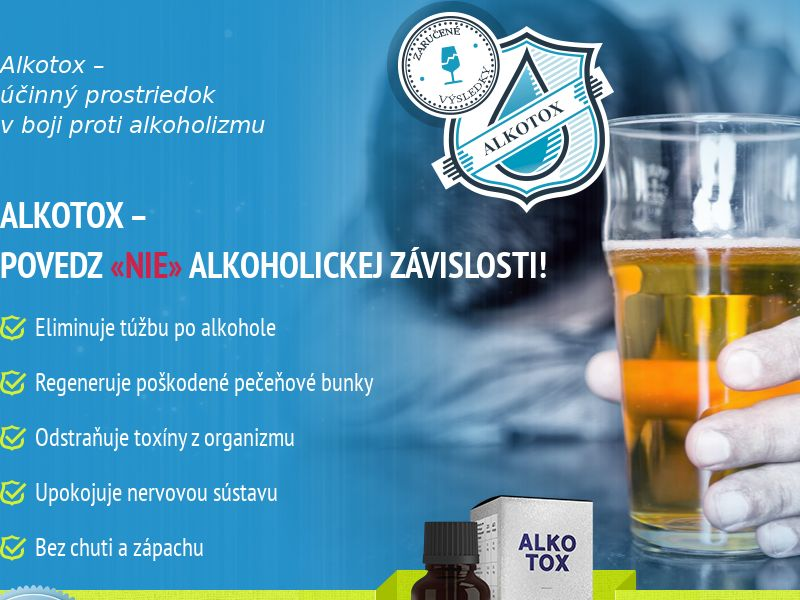 ALKOTOX SK - alcoholism treatment product