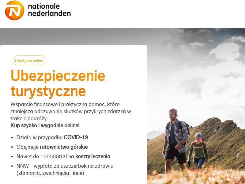 Nationale Nederlanden - Ubezpieczenie turystyczne - PL (PL), [CPA]