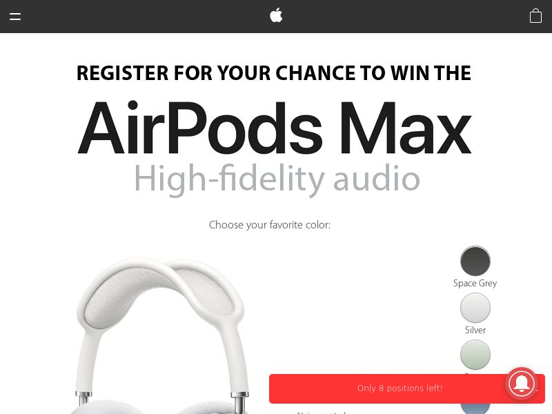 NectarContests - Airpods Max - NZ