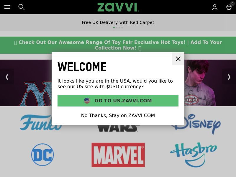 Zavvi.com CPS - Worldwide