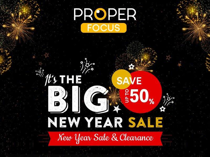 Proper Focus - Polycarbonate lenses Glasses - Special New Year LP - CPA - [INTERNATIONAL]