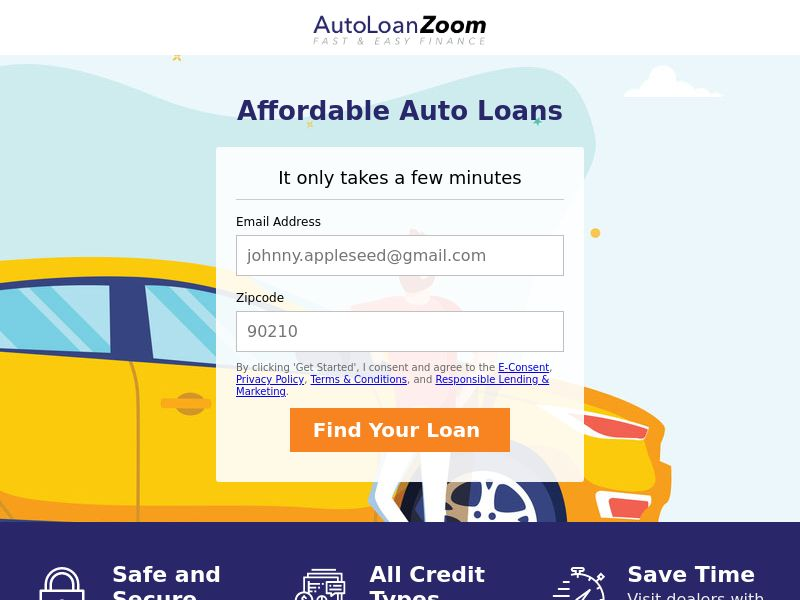AutoLoanZoom (US) (CPL) (Personal Approval)