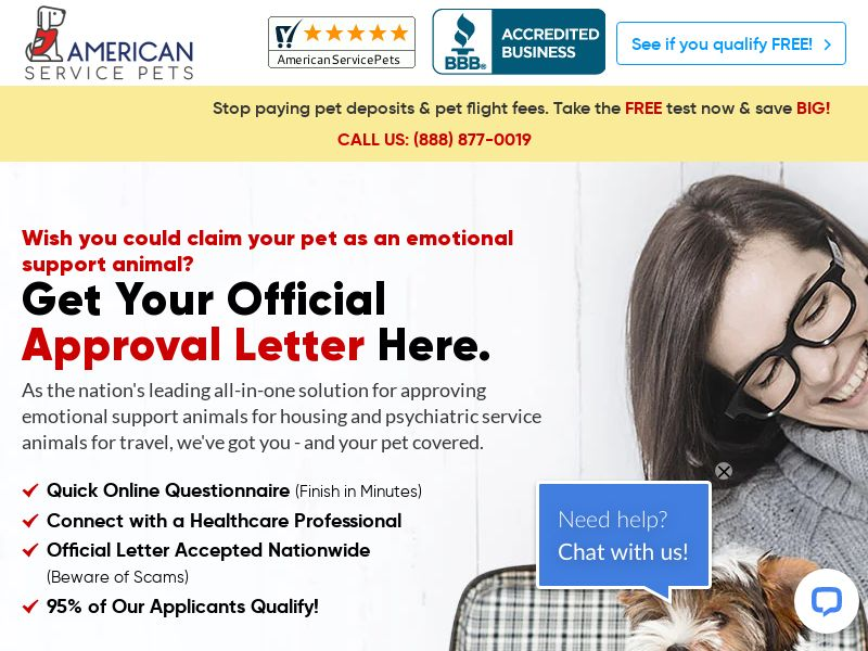 AmericanServicePets (US) (CPA) (SMS ALLOWED) (CREATIVE APPROVAL REQUIRED)
