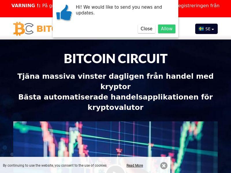Bitcoin Circuit Swedish 2177
