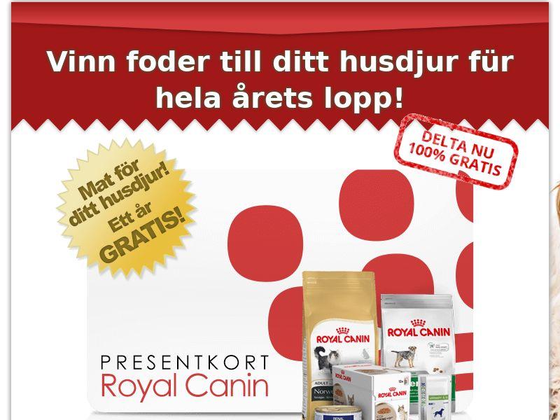 11281) [WEB+WAP] Royal Canin - SE - CPL