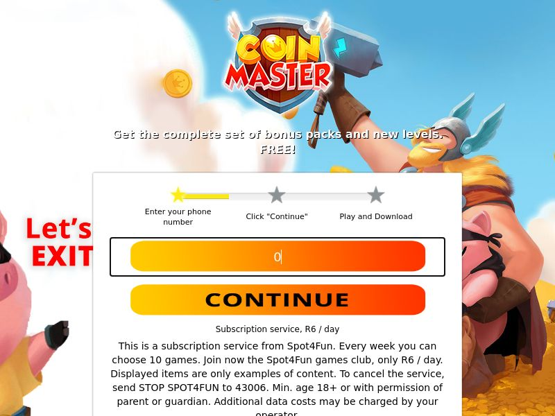 ZA - Coins Master MTN