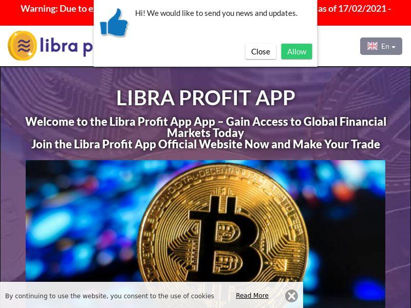 Libra Profit App Spanish 3204