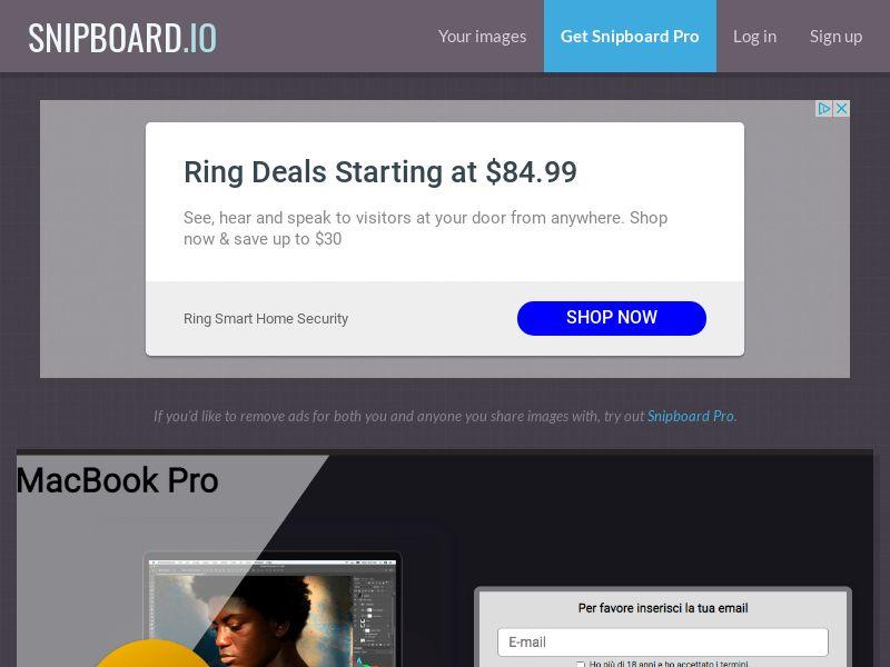 MagnificentPrize - MacBook Pro IT - CC Submit