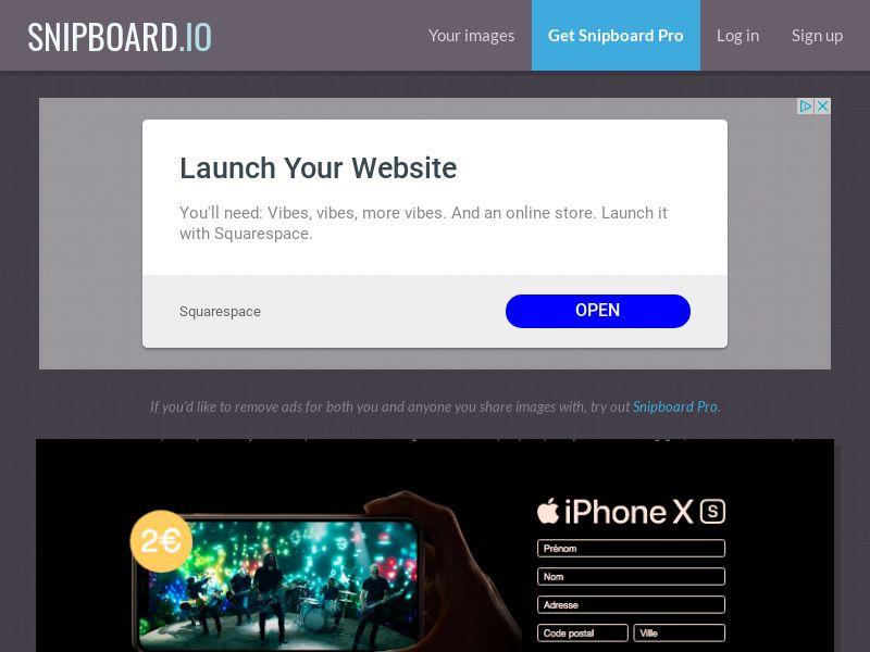 BigEntry - iPhone XS v3 FR - CC Submit