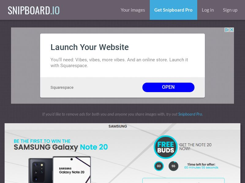 MagnificentPrize - Samsung Note 20 BH - CC Submit
