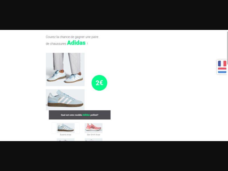 Adidas - Sweepstakes & Surveys - Trial - [BE]