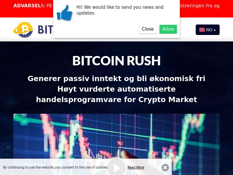 Bitcoin Rush Norwegian 2119
