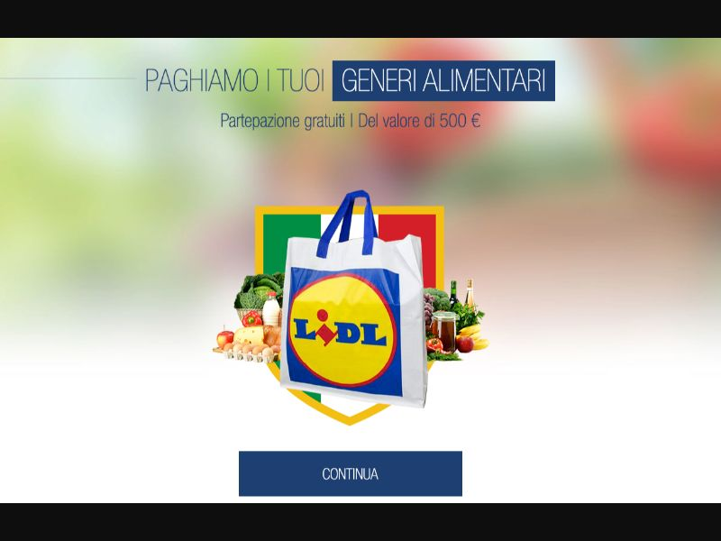 Lidl - CPL SOI - IT - Sweepstakes - Responsive
