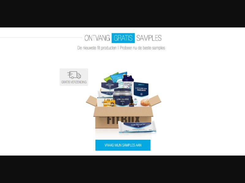 Body & Fit - CPL SOI - NL - Sweepstakes - Responsive