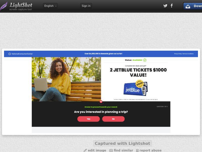 JetBlue Tickets - US