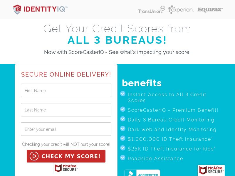IdentityIQ - Credit Essentials - INCENT - US