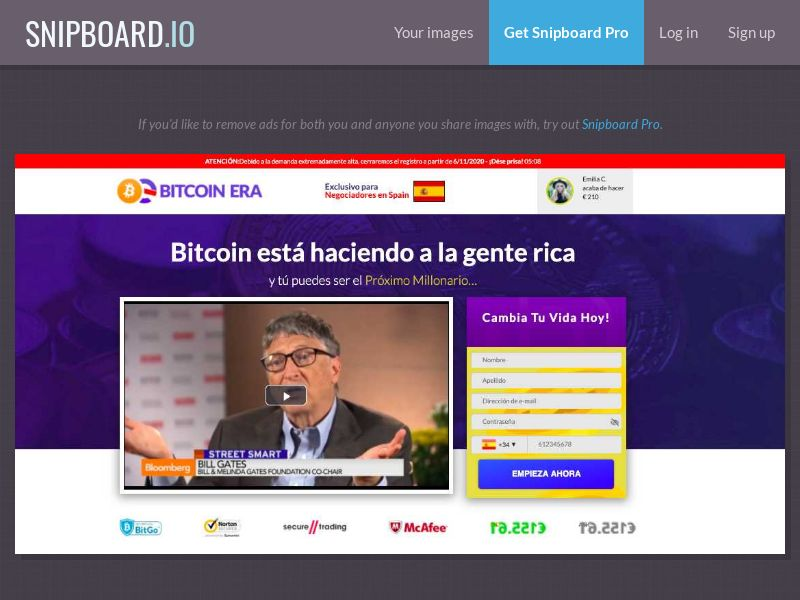 39242 - DE - BitCoin ERA (DE) - (min FTD $250)