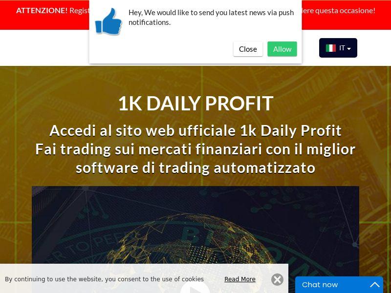 1k Daily Profits Italian 1944