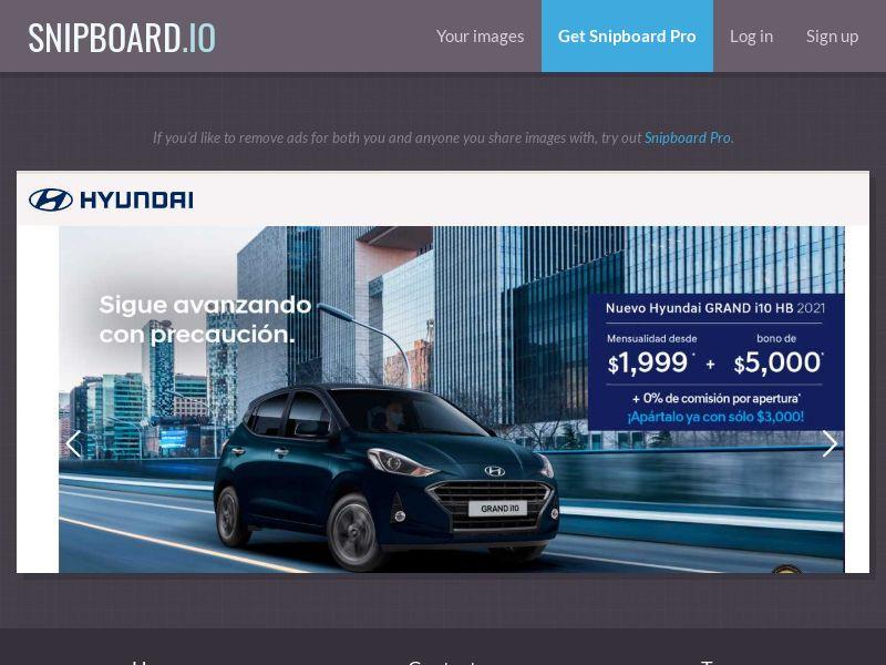 37972 - MX - Cars - Hyundai i10 - SOI (total 500 cap)