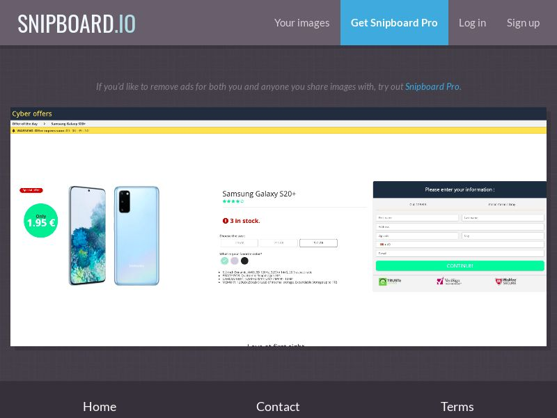 38163 - DE - G33K Premium - Samsung Galaxy S20 (Amazon) - CC submit