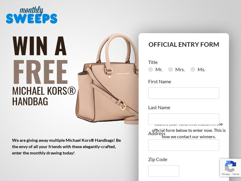 MonthlySweeps - Michael Kors - US