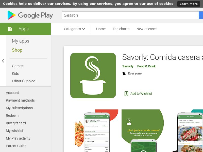 MX - Savorly (Android Free MX 47MB w/capping NRB PRIVATE) - City Targeting - - (SCAPI)
