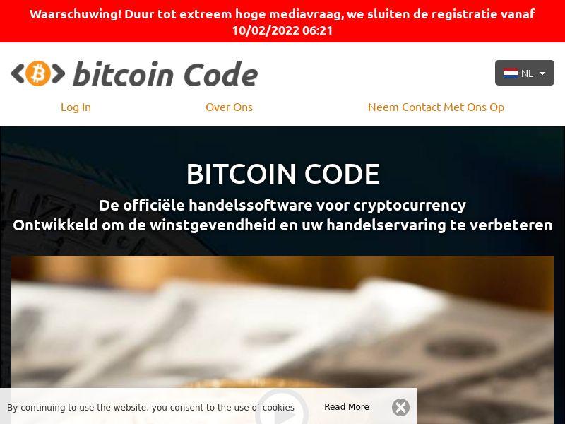The Bitcoin Code Dutch 1025