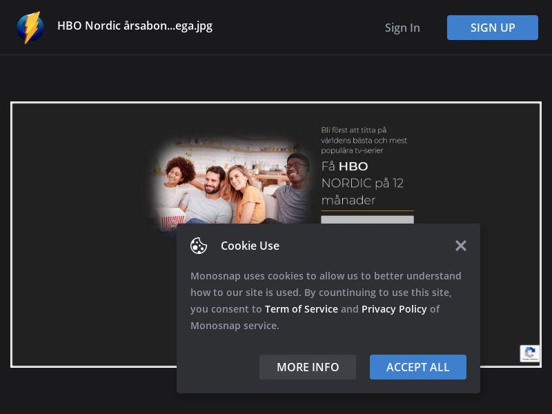 Sweden (SE) - HBO Nordic (Responsive)