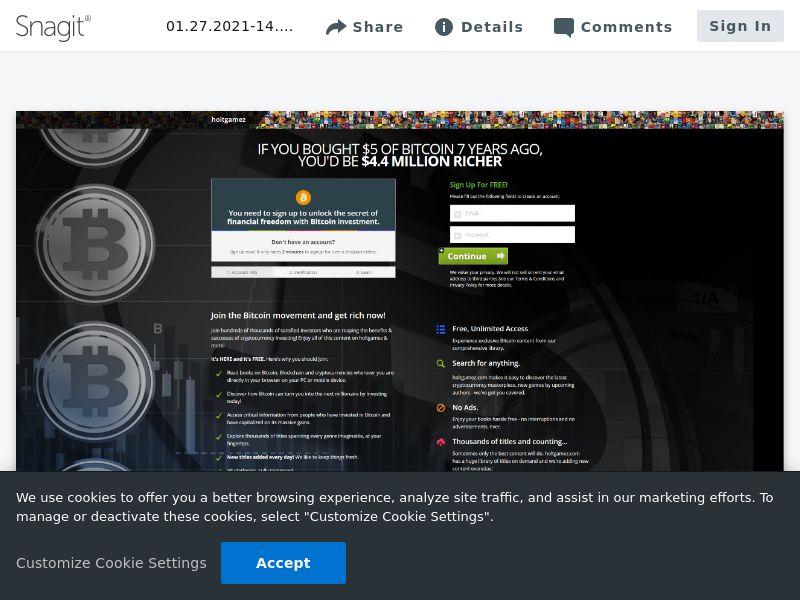 BitCoin Signup (Bitbook) | Intl
