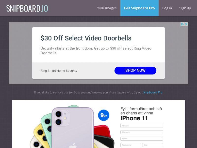 BigEntry - iPhone 11 v2 (Static LP) SE - CC Submit