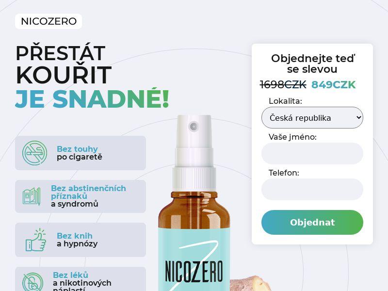 NicoZero CZ - treatment for smoking
